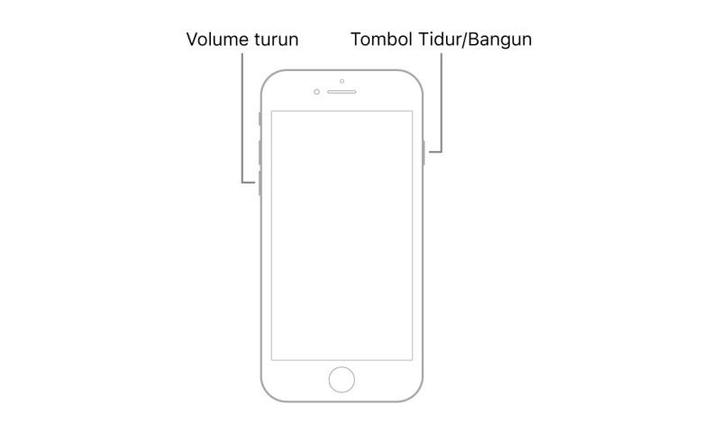2. Soft Reset iPhone 7