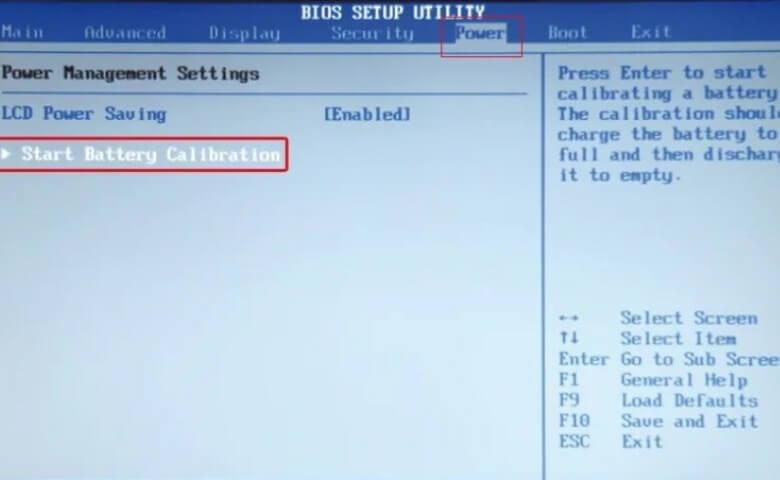 Kalibrasi Baterai Laptop dengan BIOS