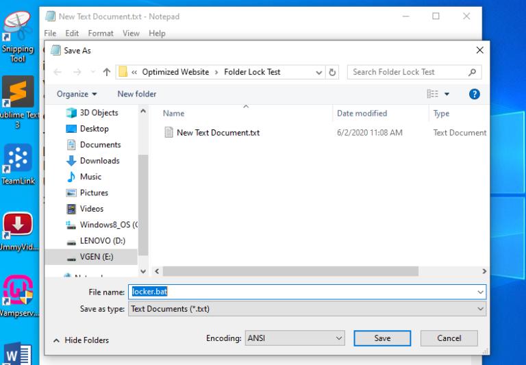 Simpan file dengan ekstensi .bat 768x533 1