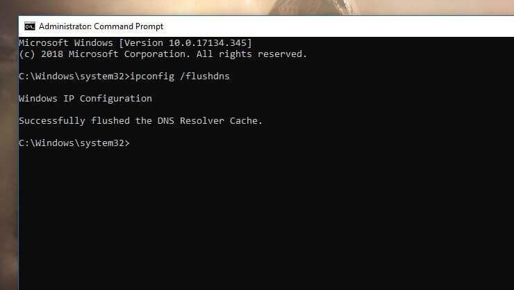 Cara Flushing DNS Cache Windows 10