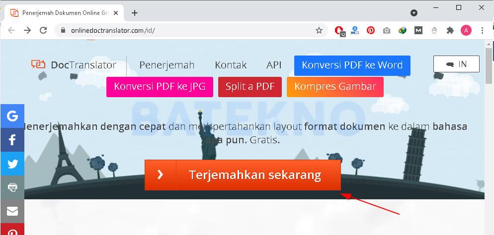 Cara Translate PDF Menggunakan Smallpdf