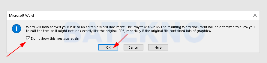 Translate PDF Menggunakan Microsoft Word