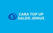 Cara Top Up Saldo Jenius BTPN (Update 2021)